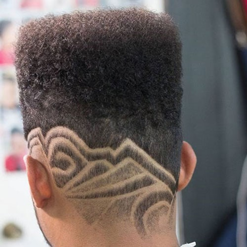 High Top Fade Haircut Designs for Black Men
