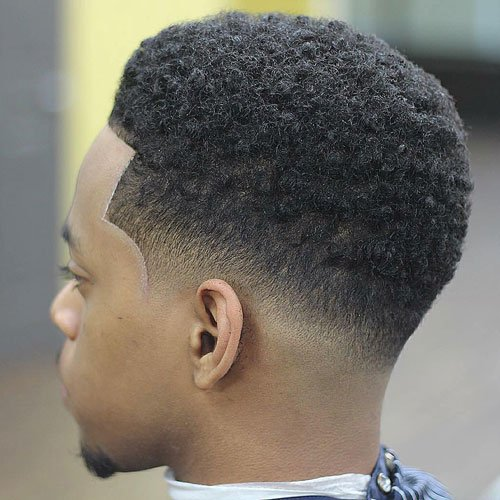 Low Afro Taper Fade