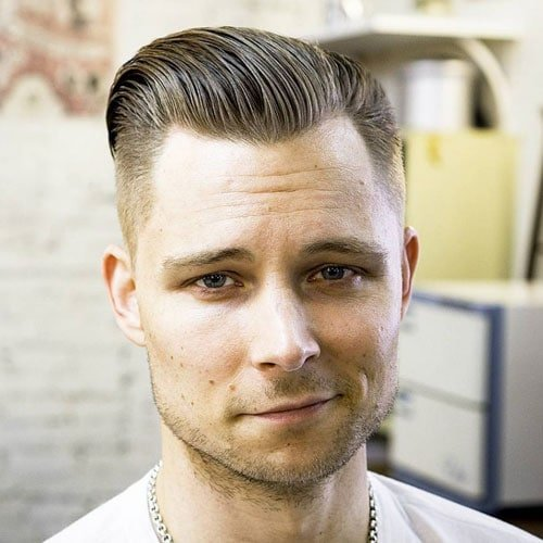 Men's Slick Back Hairstyles