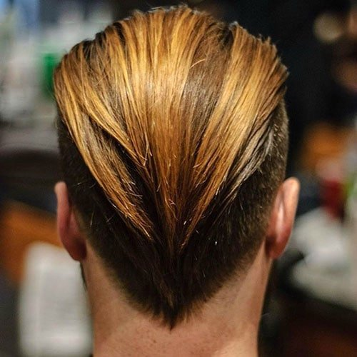 Men's Slicked Back Hairstyles