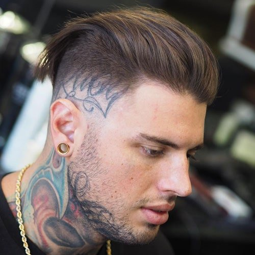 25 Slicked Back Hairstyles Men S Haircuts Hairstyles 2018