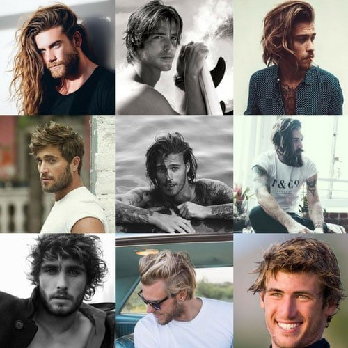 Surfer Hair For Men - Beach Hairstyles