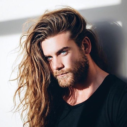 Surfer Hairstyles - Long Surfer Hair For Men