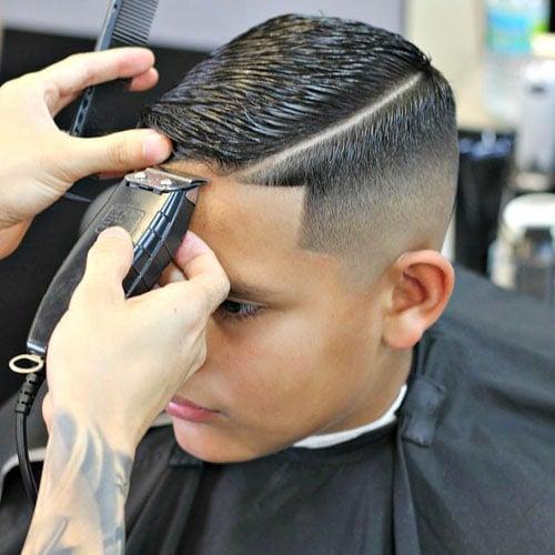 Top 27 Hard Part Haircuts (2019 Guide