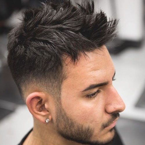 25 Faux Hawk Fohawk Haircuts 2018 Men S Haircuts