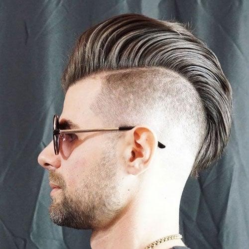 Mohawk Fade Haircut 2019 | Men\'s Haircuts + Hairstyles 2019