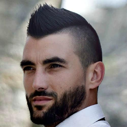 Men's Faded Mohawk - Faux Hawk