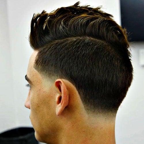 35 Cool Faux Hawk Fohawk Haircuts For Men 2020 Guide