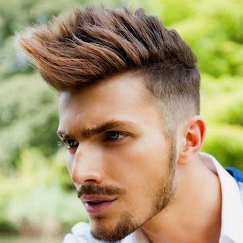 Mohawk Fade - High Faded Mohawk Hairstyle