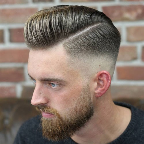 Hairstyle men simple