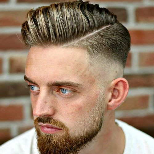 35 Cool Hard Part Haircuts For Men 2020 Guide