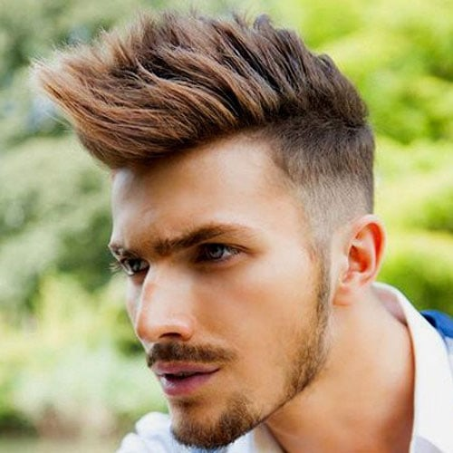 Spiked Faux Hawk Hairstyles