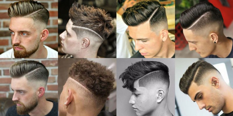 The Hard Part Haircut For Men