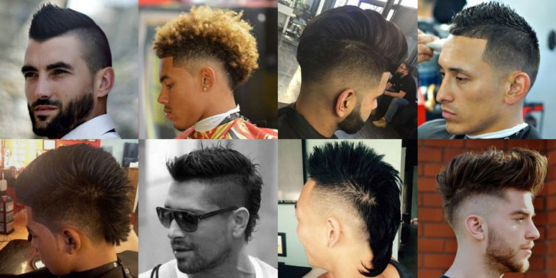 The Mohawk Fade Haircut