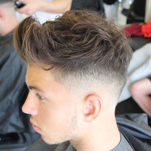 85 Best Tapered Fade Haircuts For Manman Images On: Men's Haircuts + Hairstyles 2017