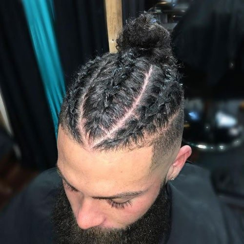 Men with Braided Hair - Best Braid Styles For Guys