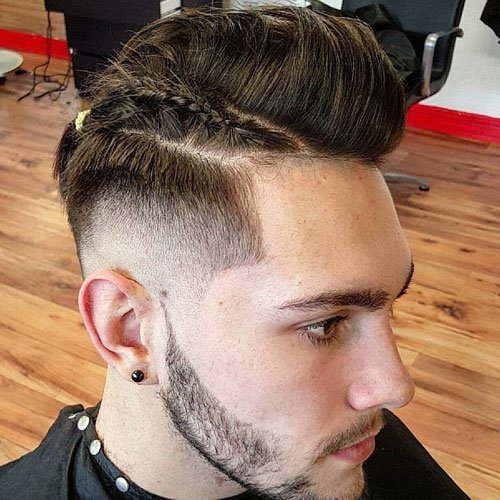 Braids For Men - The Man Braid | Men\'s Haircuts + Hairstyles 2018