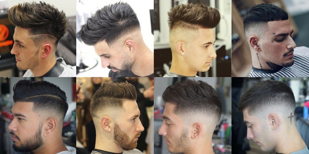 Black Hair Styles For Men: Men's Haircuts + Hairstyles 2017
