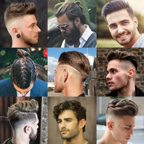 Men's Hipster Haircut