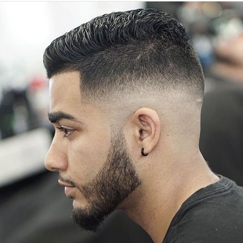High Quality Plus, Medium Fades Work With Almost All The Same Cuts And Styles As The  Other Types, Giving You The Best Of Both Worlds.