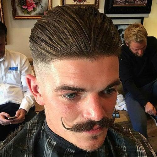 Beard Styles - Handlebar Mustache
