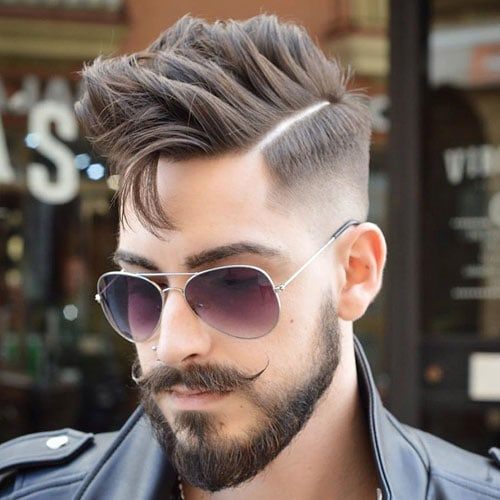 Elegant Cool Beard Styles For Men   Full Thick Beard