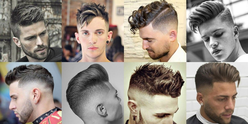 Different Hairstyles For Men 2018 | Men\'s Haircuts + Hairstyles 2018
