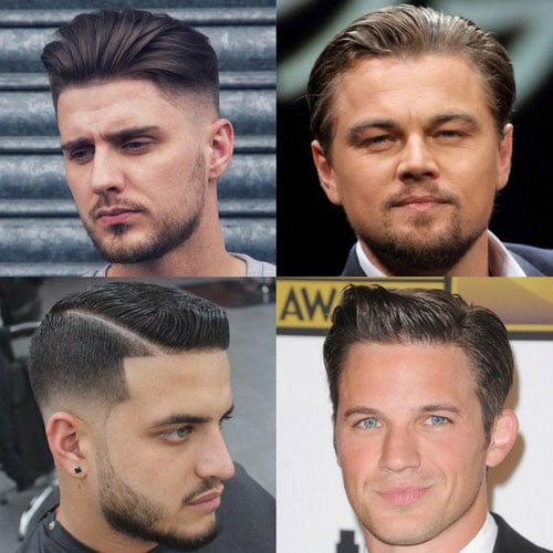 Hairstyles For Round Face Men