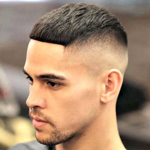 High Razor Fade with Cropped Hair