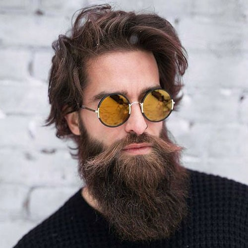 Long Full Beard Styles