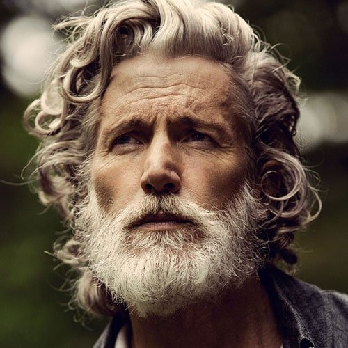 Long Hairstyles For Older Men