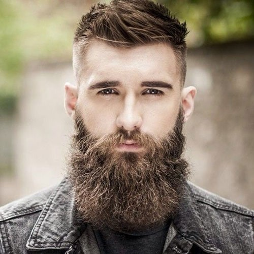 hair and beard styles haircut with beard haircuts models ideas 5032
