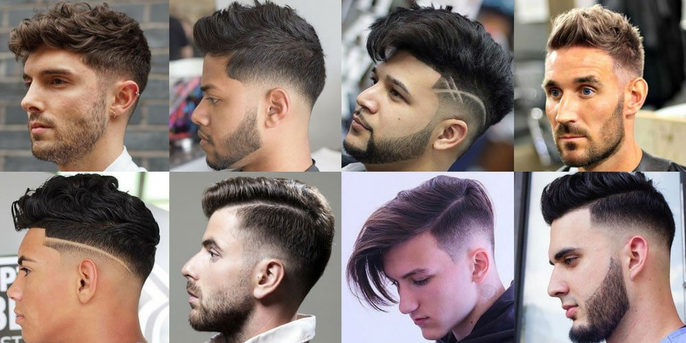 Men\u0027s Haircuts + Hairstyles 2018 · Fades · Undercuts · Short Hair · Medium  · Long Hair · Celebrities · Beards. Low Fade Haircut