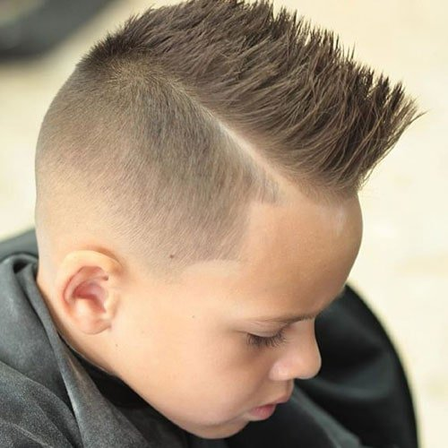 Cool Boys Haircuts Low Fade With Spiky Hair