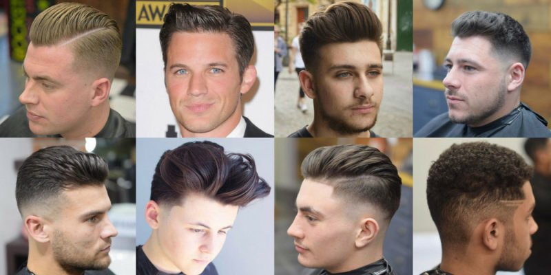 Male Haircuts For Round Faces