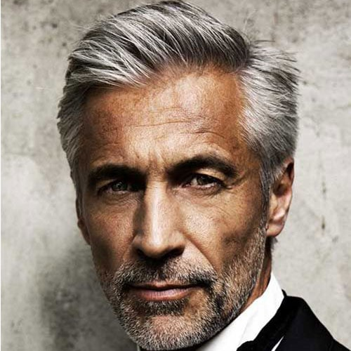 Older Men's Hairstyles - Side Part