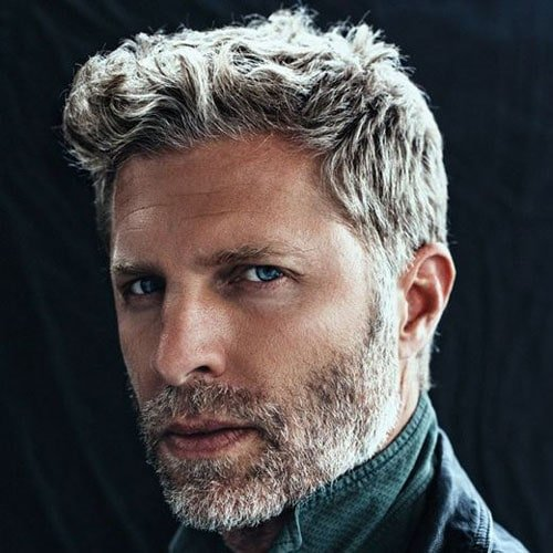 Marvelous Short Hairstyles For Older Men