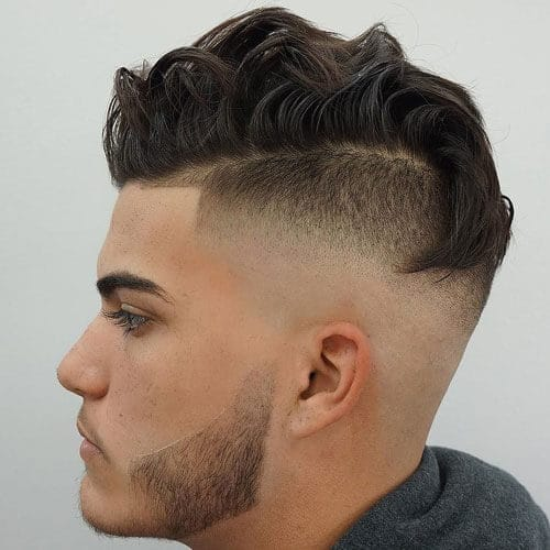 Skin Fade Undercut with Comb Over