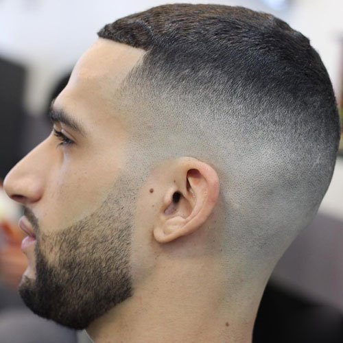 Bald Skin Fade with Buzz Cut