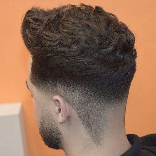 Brush Up with Layered Top and Low Fade