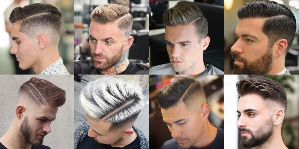 Comb Over Fade Haircut 2018 Mens Haircuts Hairstyles 2018
