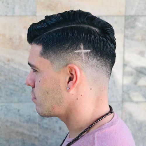 Cross Haircut Design