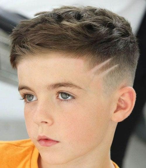 Cute Hair Design For Little Boys