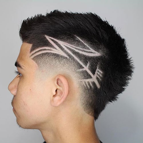 Designs In Haircuts For Guys
