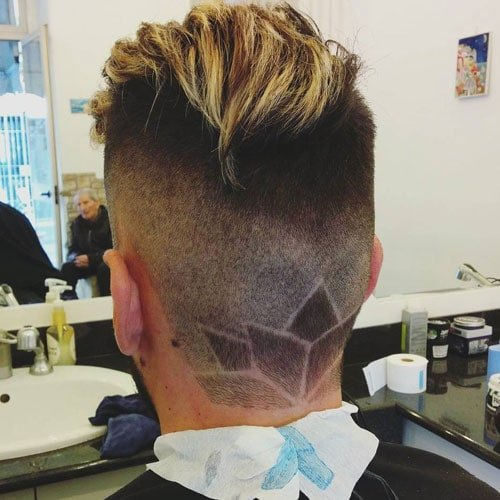 Cool haircut designs for men s haircuts
