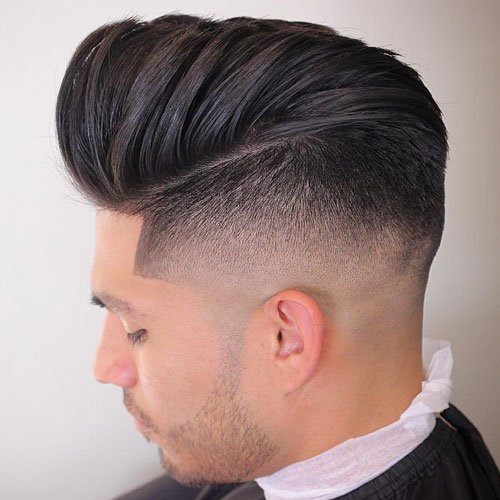 High Tape Line with Pompadour