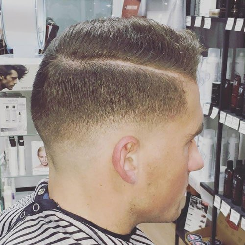 Low Fade Military Haircut