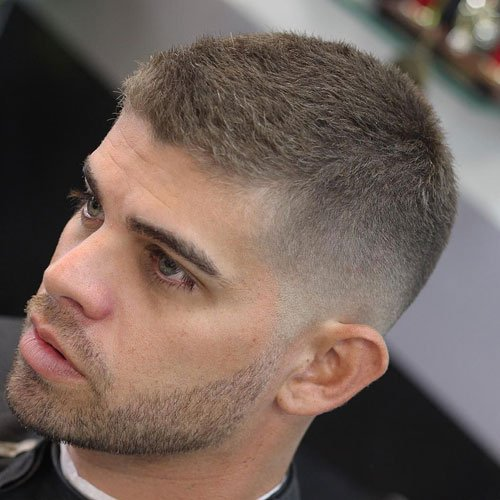 Military Fade Haircut Styles