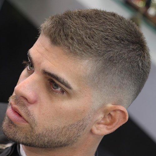 Military Haircut - Crew Cut