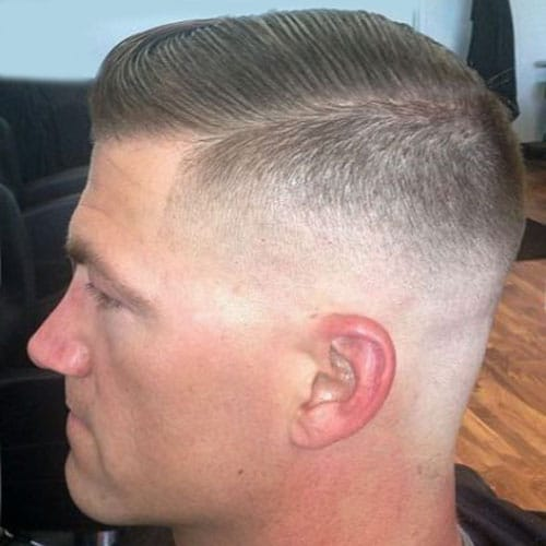 Military Haircut Styles - Regulation Cut